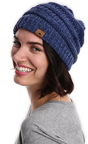 Cable Knit Beanie by Tough Headwear - Thick 1d687123376