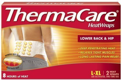 - ThermaCare Lower Back & Hip Heat Wraps, Large-XL - MS80388 (4 pouches)