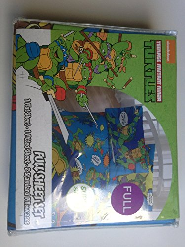 Nickelodeon Teenage Mutant Ninja Turtles Team Turtles Full Sheet ()