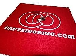 Captain O-Ring Paintball Air Tank Fill Nipple [Bonus CO Microfiber Cloth]