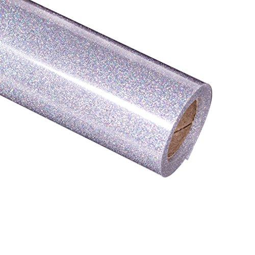 VINYL FROG Red Glitter Heat Transfer Vinyl Roll 10x60 Heat Press For Heat Press Machines