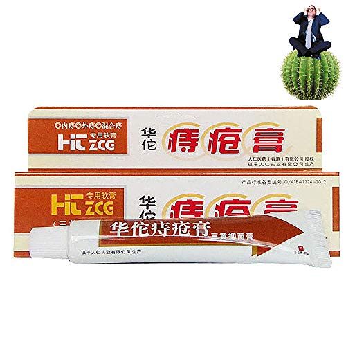 Hua Tuo Hemorrhoids Ointment,Natrual Plant Herbal Materials Powerful...