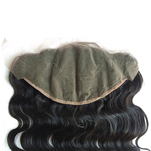 ZigZag Hair 13x6 Lace Frontal Closure Brazilian Virgin Human Hair Pre Plucked Natural Hairline Ear to Ear Full Lace Closure with Baby Hair Natural Color (20'', Body Wave) by ZigZag Hair (Image #5)