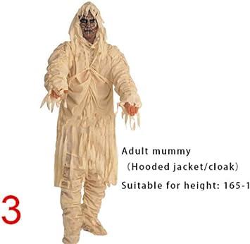 CHNWSJ Disfraces de Halloween Trajes 1PCS de Halloween for Adultos ...