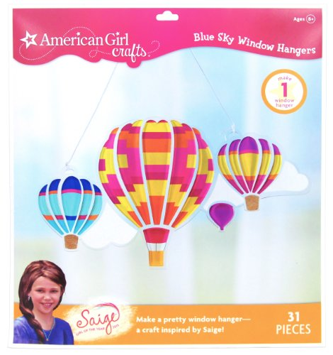 American Girl Crafts Blue Sky Window Hanger Kit, 2013 Girl of The Year Saige -