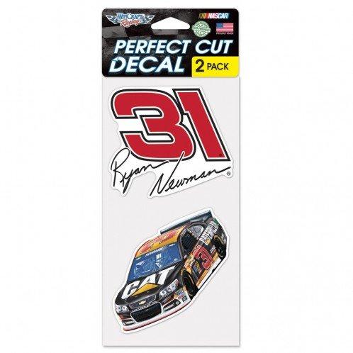"Wincraft NASCAR Ryan Newman Perfect Cut Decal (Set of 2), 4"" x 4"""