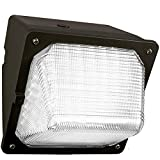 30W LED Wall Pack (150 Watt HPS/HID Replacement) 5000K (Daylight) 3100 Lumens, Commercial Grade, Glass Lens, Outdoor WallPack Lighting Fixture, UL Listed DLC Qualified