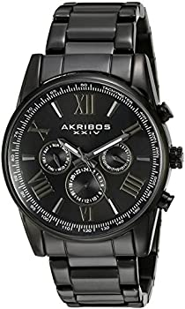 Akribos Sunburst Men's Watch