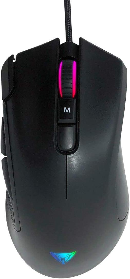 Patriot Viper V551 Full RGB Optical Gaming Mouse 12,000 DPI 7 Programmable Macro Keys