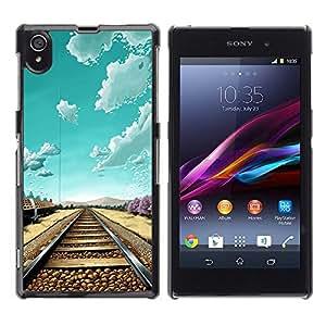 Dragon Case - FOR Sony Xperia Z1 L39 - I'm fine - Caja protectora de pl??stico duro de la cubierta Dise?¡Ào Slim Fit
