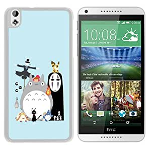Fashionable And Unique Designed Case For HTC Desire 816 Phone Case With My Neighbor Totoro 3 White