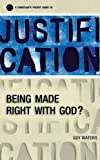 img - for A Christian's Pocket Guide to Justification: Being made right with God? (Pocket Guides) book / textbook / text book