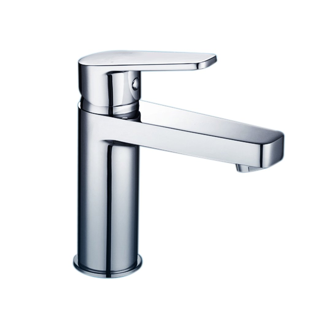 TANG CHAO Faucet Copper Bathroom Sanitary Napkin Faucet, Single Handle Single Hole Kitchen Hot And Cold Water Faucet, Bathroom Kitchen Mixing Valve Hot And Cold Water Dual Water Faucet