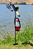 MiniFighter Fishing Rod Holder/BLACK For Sale