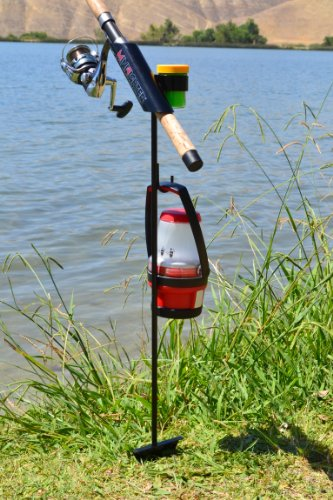 MiniFighter Fishing Rod Holder/BLACK For Sale
