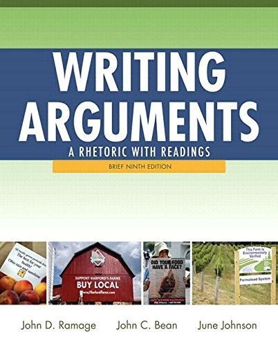 Writing Arguments: A Rhetoric with Readings, Brief Edition Plus MyWritingLab with Pearson eText -- Access Card Package (