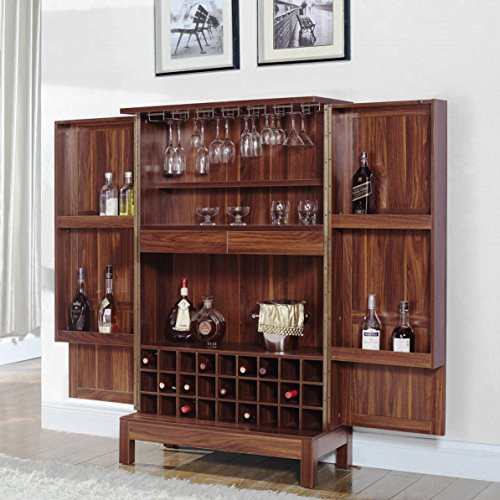 A Line Furniture Wine Storage Bar Armoire Cabinet (Furniture Bar Armoire)