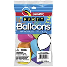"""Single Source Party Supplies - 11"""" Purple Violet Latex Balloons - 8 Count Bag"""