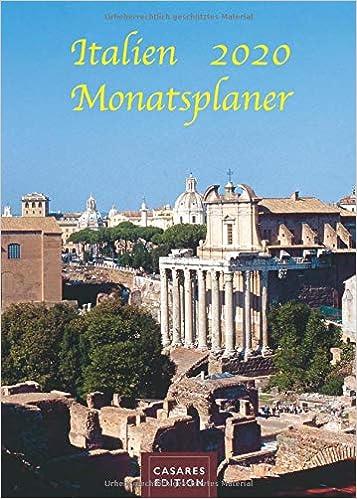 Italien Monatsplaner 2020