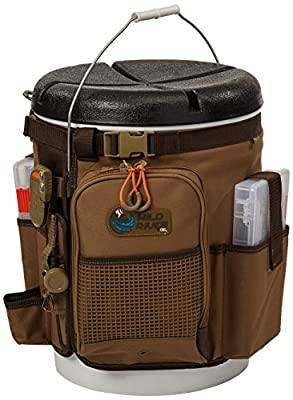 Wild River by CLC Custom Leathercraft WT3507 Tackle Tek Rigger Lighted Bucket Organizer with Plier Holder and Two PT3500 Trays