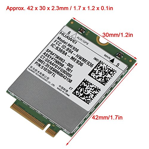 fosa Replacement Internal 100Mbps 4G LTE FDD M.2 Module Card NGFF Interface Windows/Android/ Chrome by fosa (Image #3)