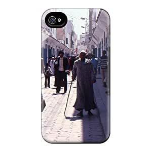 Ideal Mialisabblake Case Cover For Iphone 4/4s(in The Medina Of Essaouira), Protective Stylish Case