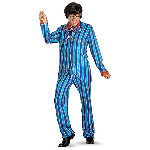 Austin Powers Carnaby Suit Deluxe Costume - XX-Large - Chest Size 50-52