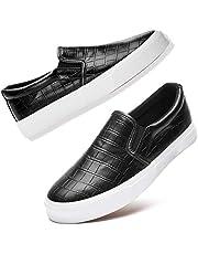 حذاء نسائي سهل الارتداء مصنوع من القماش الأبيض برقبة منخفضة حذاء رياضي للمشي بدون كعب كاجوال