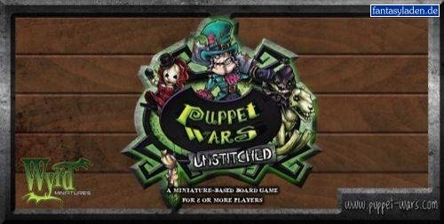 Wyrd Miniatures - Wyrd Miniatures PW011 Puppet Wars Unstitched
