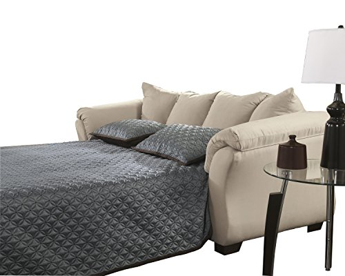 Darcy Full Sofa Sleeper - Stone - Signature Design by Ashley