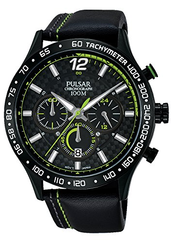 Pulsar para Hombre-Reloj analógico de Cuarzo WRC Piel PT3693X1: Amazon.es: Relojes