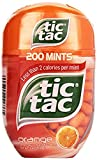 Tic Tac Orange Bottle Pack, 3.4-Ounce / 200 Count (Pack of 4) 800 Total