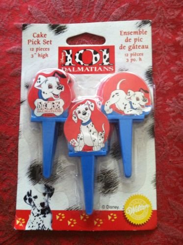 Disney - 101 Dalmations Cake Decorating Pick Set - 12 ()