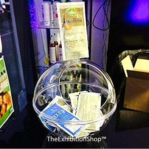 Business Card Collector Bowl ~ Suggestion Box ~ Ballot Box ~ Donation Box ~ Sweets Dispenser ~ Counter Top Display ~ Exhibition Competition Bowl ~ This is a Great Product!