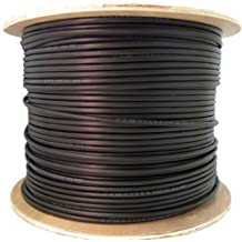 C&E CNE60870 1000-Feet CAT6 23AWG 4PR Direct Burial Outdoor Waterproof UV Rated Ethernet Cable