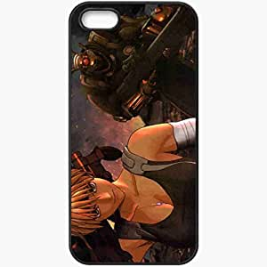 Personalized iPhone 5 5S Cell phone Case/Cover Skin Appleseed movies Black