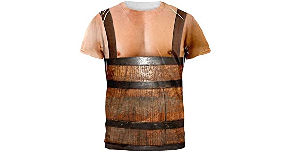 Amazon.com: Halloween Hombre en barril Ligueros Costume ...