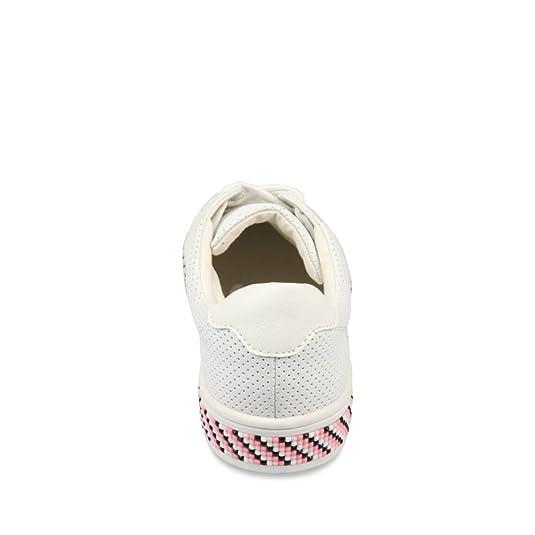 86d35593739 Baskets BLANC ANGELA THOMPSON Femme Chaussea  Amazon.fr  Chaussures et Sacs