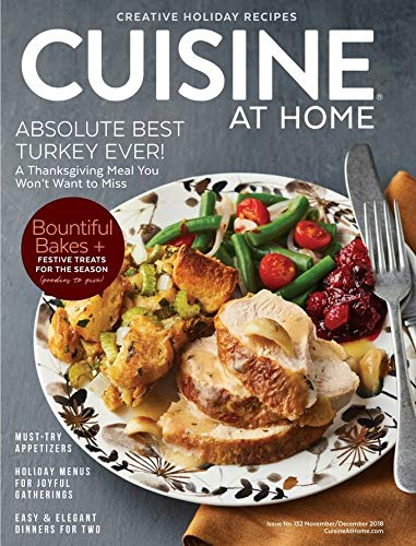 Magazines : Cuisine at Home