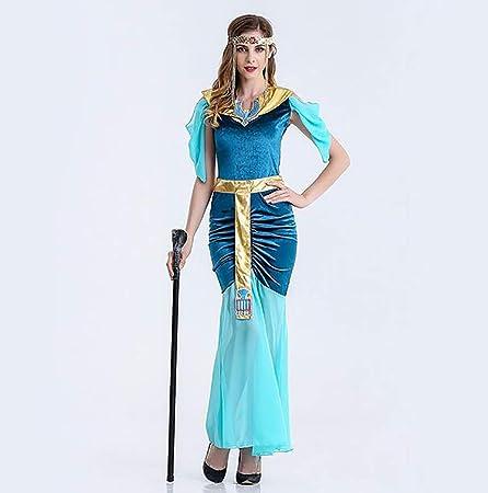 SHANGLY Sexy Cleopatra Disfraces Halloween Adulto Reina Egipcia ...