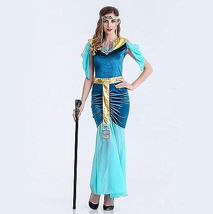 Disfraces Reina Cleopatra Sexy Halloween Adulto Egipcia Shangly 1XEwzw