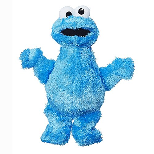 Sesame Street Mini Plush Cookie Monster Doll: 10-inch Cookie Monster Toy for Toddlers and Preschoolers, Toy for 1 Year Olds and Up ()