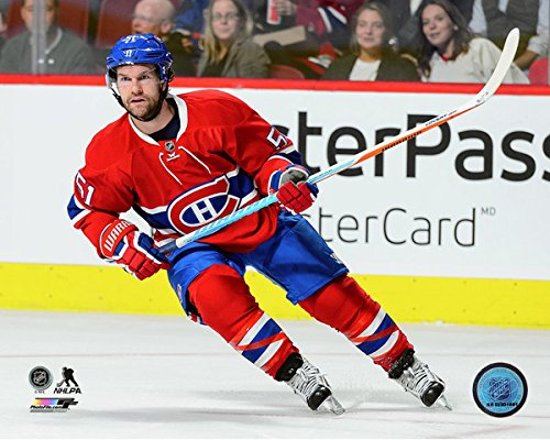 "David Desharnais Montreal Canadiens NHL Action Photo (Size: 8"" x 10"")"