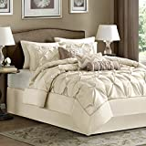 Madison Park Laurel Comforter Set, California King, Ivory