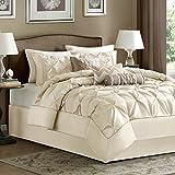 Madison Park Laurel Comforter Set, California King, Ivory