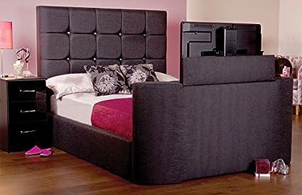Sweet Dreams jazmín TV cama, Executive White Sands, cama doble King: Amazon.es: Hogar