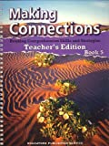 img - for By Kay Kovalevs Making Connections-Reading Comprehension Skills and Strategies, Book 5 (Teacher's Edition) (Making C (Book 5) [Spiral-bound] book / textbook / text book