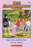Mary Anne and Miss Priss (Baby-Sitters Club) by Ann M. Martin front cover