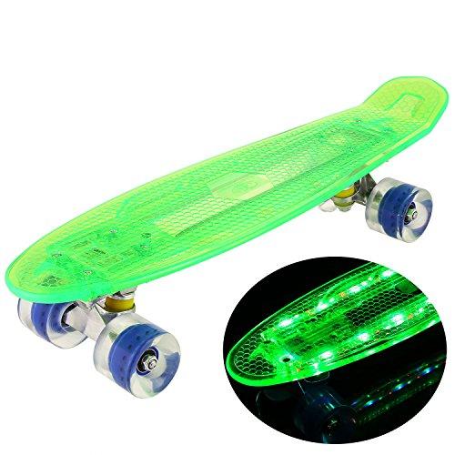 Led Light Up Longboard Wheels in US - 9