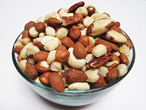 asted & Unsalted, 5lb (Pecan, Brazil Nuts, Hazelnuts, Almonds, Cashews) ()